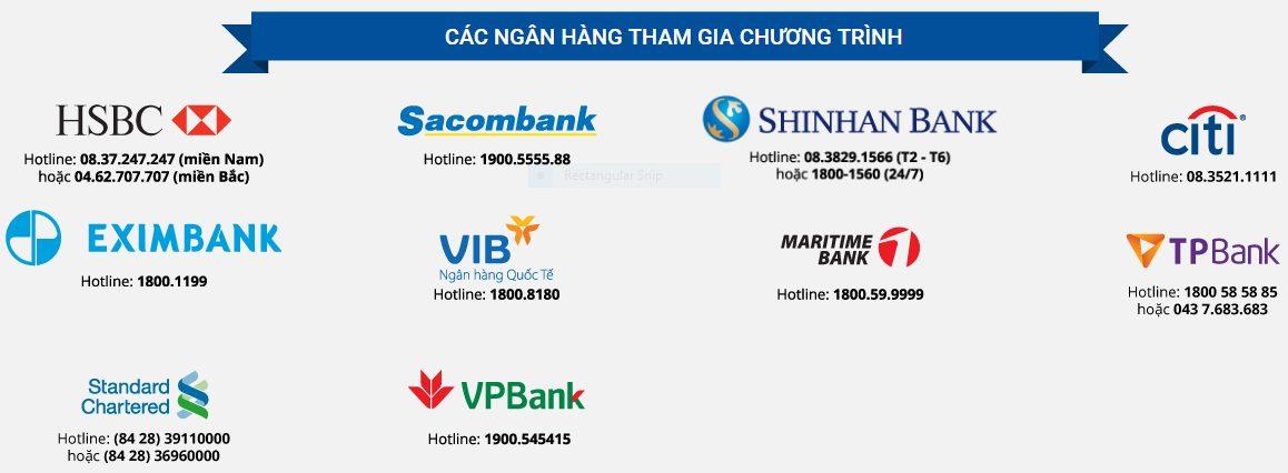 chương trình khuyến mãi Tiki dành cho các chủ thẻ ngân hàng 2018