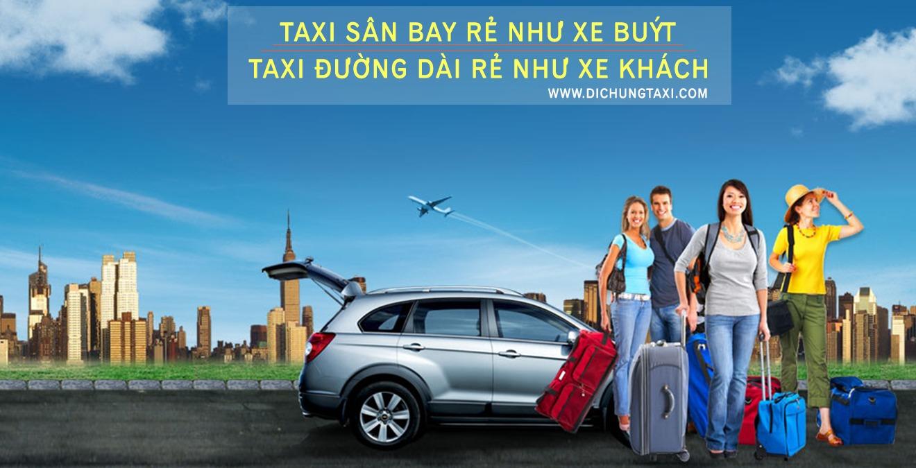 mã giảm giá khuyến mãi Dichungtaxi sân bay giá rẻ như xe buýt