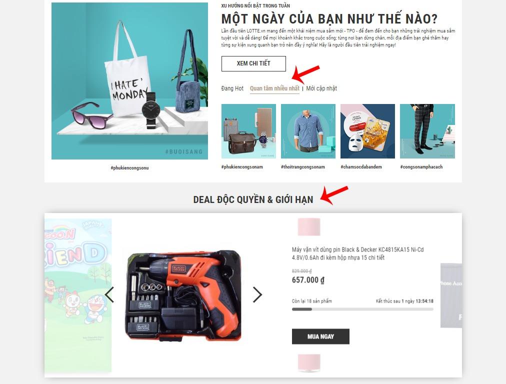 Tìm kiếm sản phẩm theo Danh mục sản phẩm hot