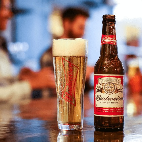 bia budweiser chai - mã giảm giá vua bia