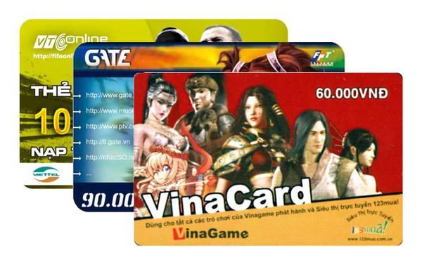 Mã giảm giá thẻ game khuyến mãi garena, zing, gate, vcoin, Oncash, Bit, Carot… hot