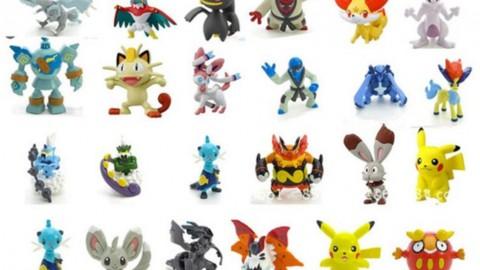 Shopee khuyến mãi giảm thêm 20% cho Bộ 24 tượng thú C'MON TOYS Pokemon Go cao 2-3cm