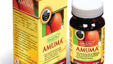 Tiki khuyến mãi thêm 6% cho Thực Phẩm Chức Năng Dầu Gấc Plus Amuma A005 (60 Viên)