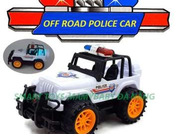 Đồ chơi xe cảnh sát địa hình chạy pin Smart Toys ưu đãi hấp dẫn trên Shopee