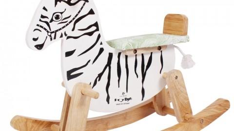 Lazada APP khuyến mại giảm thêm 22% cho Ngựa gỗ bập bênh IQ Toys