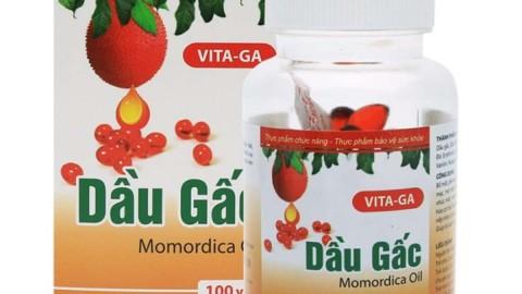 Shopee ưu đãi thêm 10% cho Viên sáng mắt dầu gấc Vita-Ga 100 viên nang