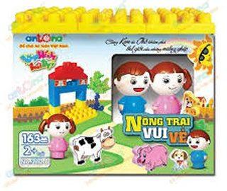 Shopee khuyến mãi thêm 20% cho Bộ đồ chơi lắp ghép Nông trại vui vẻ Antona Việt Nam