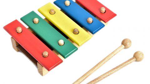 Tiki khuyến mãi thêm 15% cho Đồ Chơi Gỗ Mô Hình Vietoys Đàn Xylophone 5 Thanh VTU3-0016