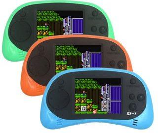 Máy chơi game cầm tay tích hợp 260 games trong một RS-8 ưu đãi hấp dẫn trên Shopee