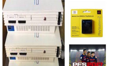Máy game Playstation 2 (PS2) nội địa Nhật (+5 đĩa game) ƯU ĐÃI hấp dẫn trên Shopee