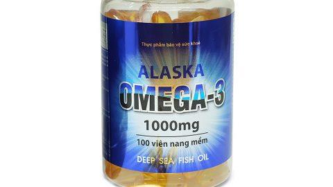 Khuyến mãi Tiki giảm thêm 14% cho Thực Phẩm Chức Năng Alaska Omega 3 1000mg O001 (100 Viên)