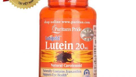 Adayroi khuyến mãi thêm 20% cho Thực phẩm chức năng bổ mắt Puritan's Pride Lutigold Lutein 20mg 60 viên