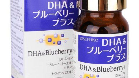 Adayroi khuyến mãi thêm 10% cho Thực phẩm chức năng bổ não và mắt Josephine DHA & Blueberry Plus 90 viên