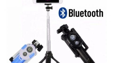 Khuyến mãi Shopee giảm thêm 15% cho Gậy chụp ảnh Selfie Bluetooth 3 in 1 kèm chân đế