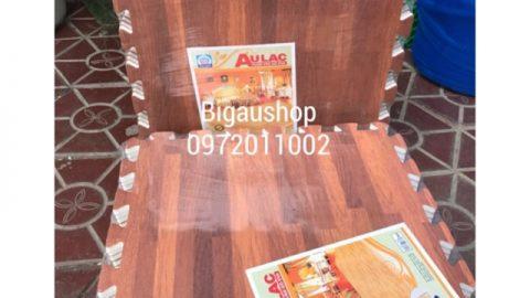 Shopee khuyến mại giảm thêm 8% cho Thảm Xốp ghép vân gỗ ÂU LẠC 42x42(1 bich 9 miếng)