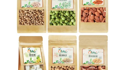 GIÁ HUỶ DIỆT: Tiki ưu đãi khủng đến 67% cho Combo 6 Gói Otoke: Hạnh Nhân (200g) + Điều Lụa (200g) + Vỏ Bưởi (70g) + Đậu Phộng Mè (150g) + Đậu Nành (150g) + Hà Lan Vị Wasabi (150g)