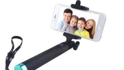 GIÁ SỐC: Lazada APP ưu đãi khủng đến 43% cho Gậy Chụp Hình Selfie Xi Sắt Selfie Stick