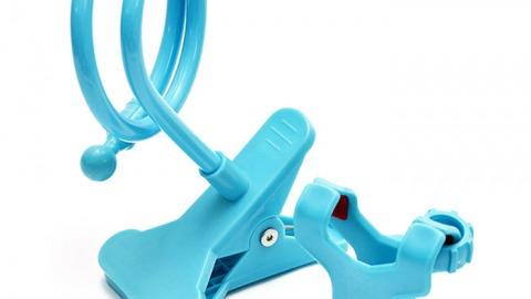 Yes24 khuyến mại giá sốc đến 40% cho Giá kẹp đa năng Techmate cho điện thoại NYTP 02 - Xanh biển