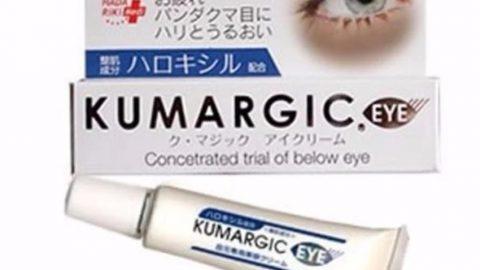 Lotte khuyến mãi đến 32% cho Kem trị thâm quầng mắt Cream Kumargic Concetrated Trial Of Below Eye 20g