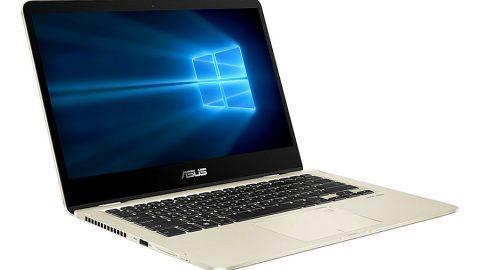 Tiki khuyến mãi thêm 10% cho Laptop Asus Zenbook Flip 14 UX461UA-E1126T Core i7-8550U/Win10 (14 inch) - Vàng - Hàng Chính Hãng
