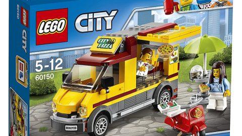 Khuyến mãi Tiki giảm thêm 17% cho Mô Hình Lego City - Xe Pizza 60150 (249 Mảnh Ghép)
