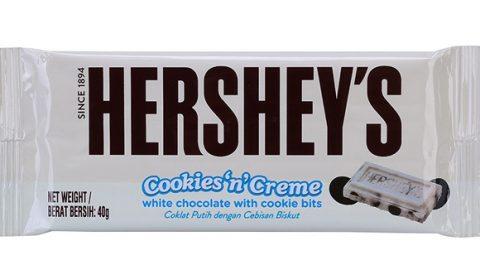 Yes24 khuyến mại thêm 16% cho Sô cô la Hershey's HRC Cookiesncreme 40g