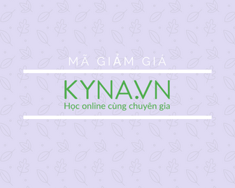 Mã giảm giá Kyna, khuyến mãi Kyna HOT