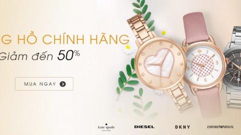 Đồng hồ chính hãng ưu đãi khủng đến 50% trên Shop Vnexpress