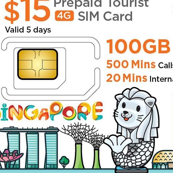 Mua sim 4G Singapore tại Việt Nam | Ưu đãi hấp dẫn