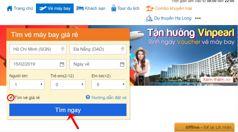 Săn vé máy bay giá rẻ đi Đà Nẵng tháng 2