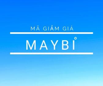 Mã giảm giá Maybi, thời trang khuyến mãi tháng 4/2020